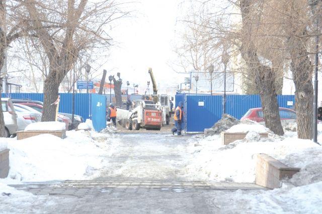Жители улицы Валиханова хотят благоустройства, но с обязательным озеленением.