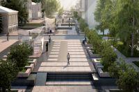 Так будет выглядеть улица Валиханова после реконструкции.