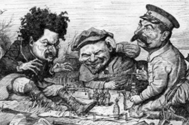 Карикатура Владимира Молчанова
