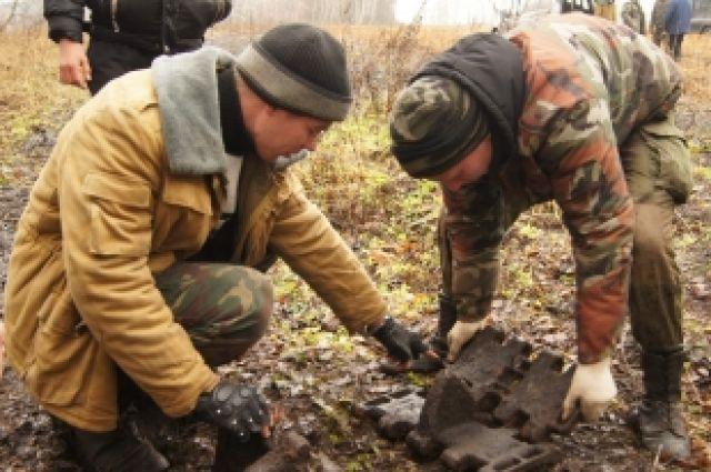 Челябинские поисковики нашли родственников погибших солдат