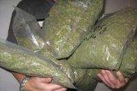 В Омске пресечена попытка продажи крупной партии марихуаны.