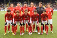Сборная Южной Кореи.