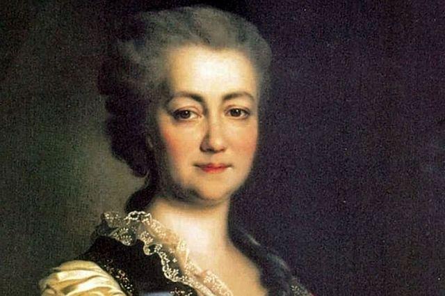 Екатерина Дашкова. Портрет, 1784 год.