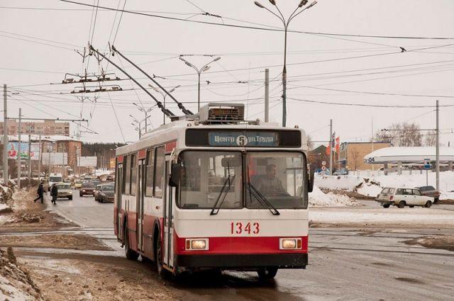 маршрут троллейбуса № 5а