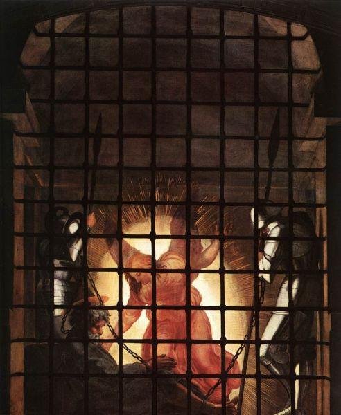 В 1514 году именитый художник написал одну из своих величайших работ – фреску «Освобождение апостола Петра из темницы». Здесь во всей красе проявилась мастерство художника в работе со светом и тенью. При этом сама фреска расположена над окном и смотрящий на неё человек отчасти ослеплён солнечным светом из окна.