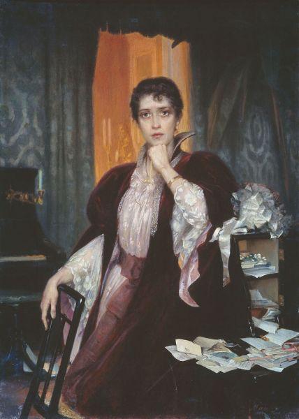 Анну Каренину писал также знаменитый живописец Генрих Манизер. Одним из любимых направлений художника были портреты – позже он напишет князя Вяземского и императора Николая II.