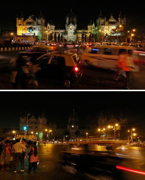 Вокзал Чхатрапати Шиваджи вМумбаи.
