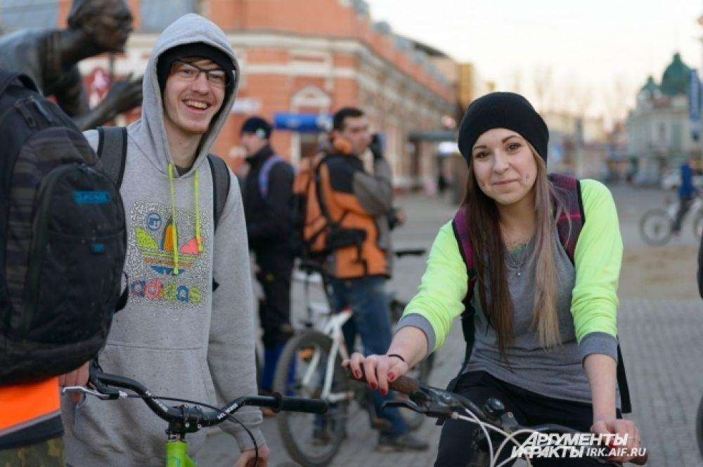 Велотранспорт в Иркутске с каждым годом развивается.