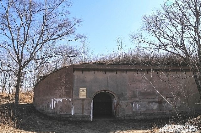 Форт №12 на острове Русский.