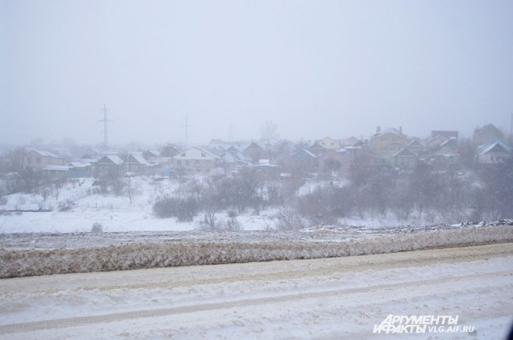 Дороги за несколько часов покрылись ледяной коркой.