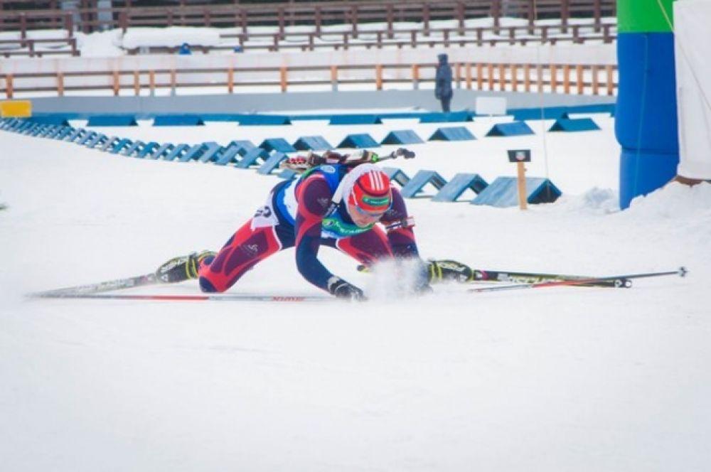 В женской гонке преследования национального чемпионата «золото» взяла Яна Романова с результатом 25:36.6