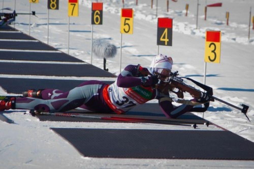 Первым к финишу пришел югорчанин Евгений Боярских, накануне взявший «серебро» в спринте, с результатом  34:04,9.