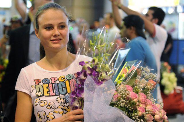 Александра Пацкевич. 2011 год.