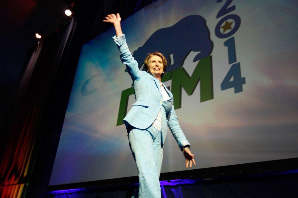 Нэнси Пелоси сейчас возглавляет фракцию меньшинства в Палате представителей Конгресса США, а семь лет назад она была избрана спикером Палаты, став первой женщиной на этом посту. В условиях республиканского большинства в Палате представителей, Пелоси возглавляет фракцию демократов и играет одну из главных ролей в партии. Об успехах Пелоси в политике говорит хотя бы тот факт, что в парке «Золотые ворота» в Сан-Франциско есть названная в её честь улица.