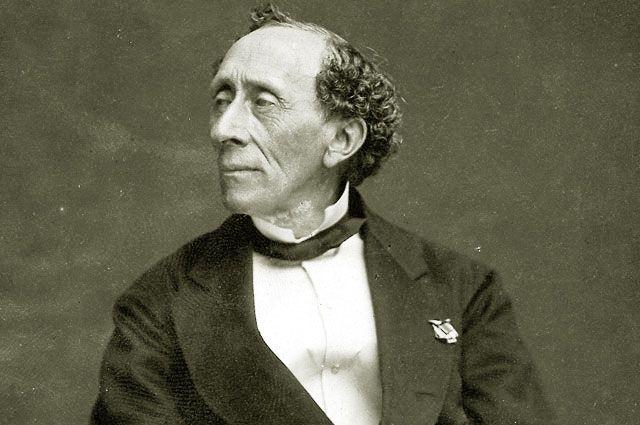 Ганс Христиан Андерсен. 1869 год.