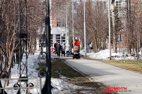 В Новосибирске весна бьёт все рекорды – сейчас в городе на 8-10 градусов теплее климатической нормы.