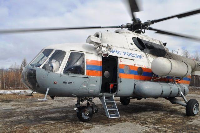 Вертолёт МИ-8 МЧС