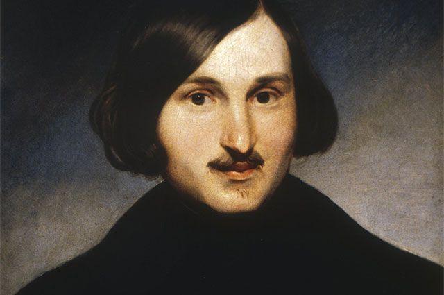 Портрет Николая Гоголя работы Фёдора Моллера. 1840-е годы.