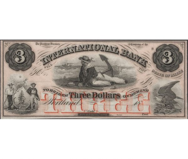 Изначально доллары печатались в тёмно-сером цвете и лишь во второй половине XIX века была напечатана партия зелёных купюр. По легенде, это связано с тем, что печатная компания таким образом решила избавиться от излишков зелёной краски.