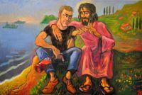 Картина с выставки Иннокентия Баранова.