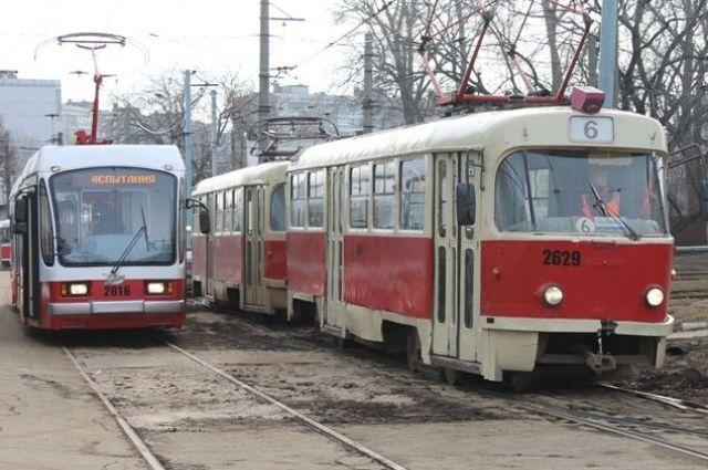 Маршрут трамвая №417 в Нижнем