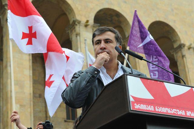 Экс-президент Грузии Михаил Саакашвили.