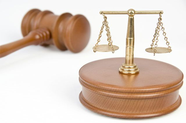 Судебная символика.