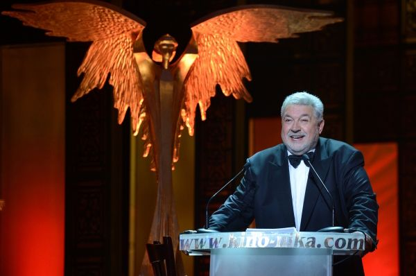 Ведущим церемонии вручения премии был её основатель и художественный руководитель Юлий Гусман.