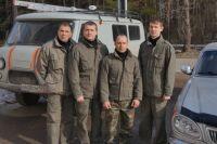 Спасатели Чайковской городской поисково-спасательной службы