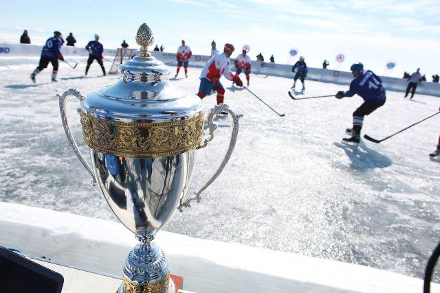 Большой матч с болельщиками на Байкале пройдет следующей зимой.