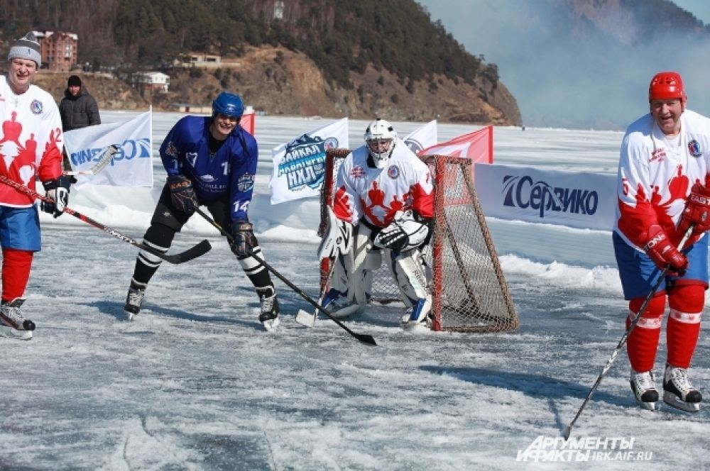 Гладь Байкала в будущем может стать настоящим зимним стадионом.