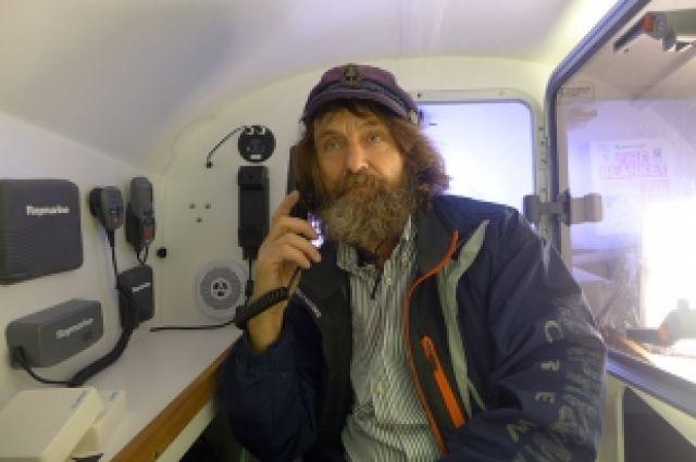 Федор Конюхов отметил юбилей с китами