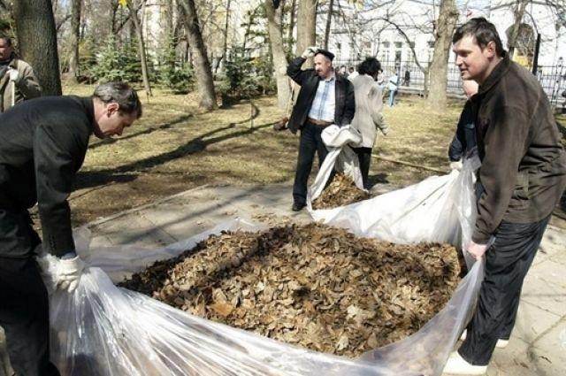 Собранный мусор примет городской полигон ТБО.