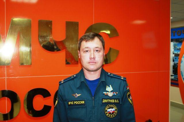 Летчик-спасатель Валерий Дмитриев