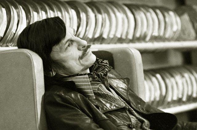 Кинорежиссер Андрей Тарковский. 1979 год.