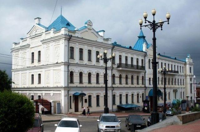 Здание Дальневосточного художественного музея
