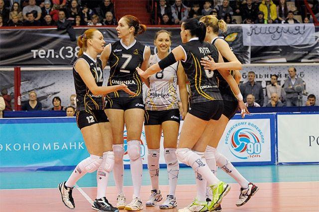 Омская команда в очередной раз победила соперниц.