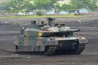 Японский танк «Тип-10».