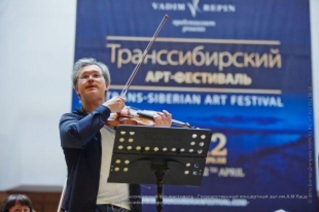 Вадим Репин - один из организаторов фестиваля.
