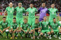 Сборная Алжира.