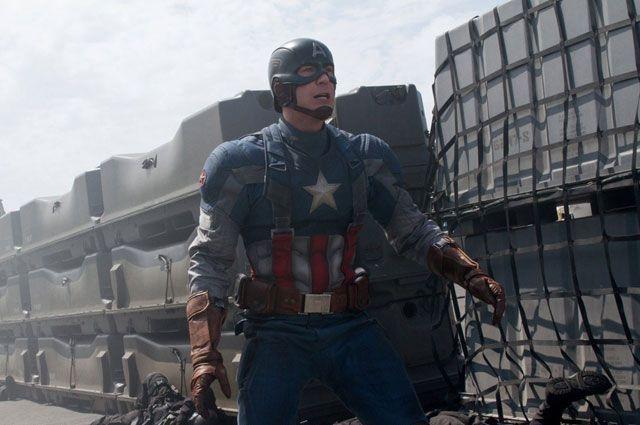 «Первый мститель: Другая война». Крис Эванс в роли Капитана Америки. 2014 год.