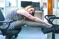 Упражнения для спины помогут почкам. Тяните спину