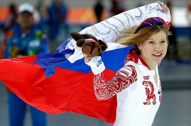 Ольга Фаткулина на Олимпиаде-2014.
