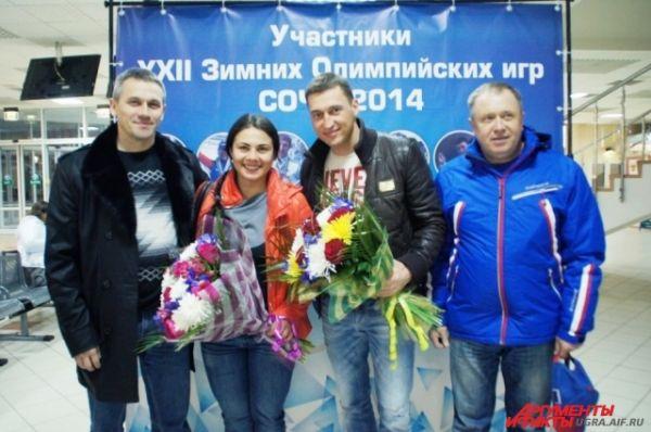 Спортсмены прилетели в Ханты-Мансийск специально для встречи с губернатором Югры Натальей Комаровой.
