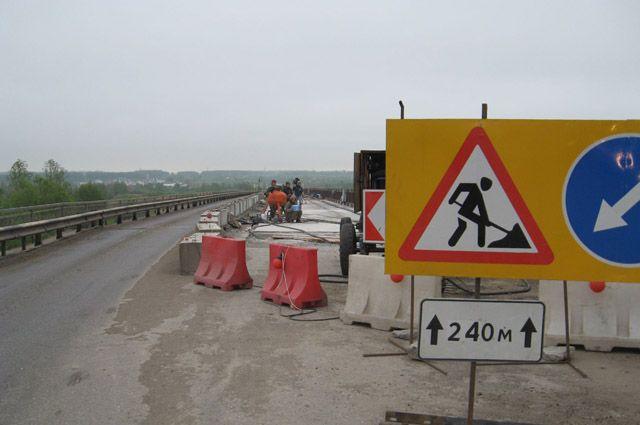 Участки федеральных дорог начнут ремонтировать в конце апреля.
