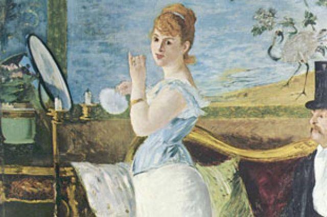 Эдуард Мане. «Нана», 1877 год.