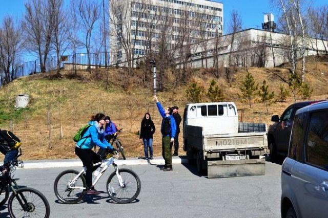 Участники велопробегов