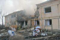 В Омской области взорвался бытовой газ в жилом доме.