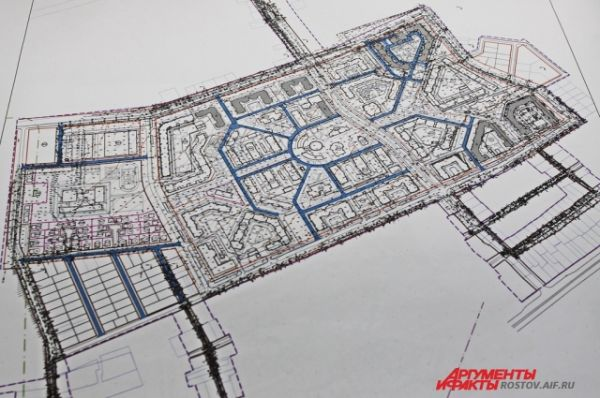 План нового жилого комплекса «Европейский».