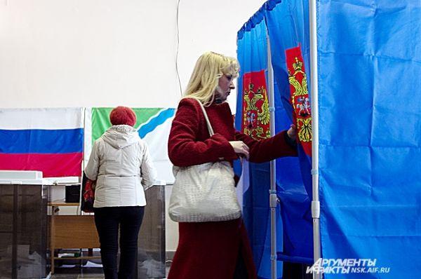 За два часа до окончания выборов явка составила почти 30 %.